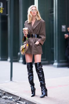 27 Style Street Style Outfits That Will Make You Look Great Fashion Trends Street Style Trends, Look Street Style, Street Style Women, Elsa Hosk, Girl Fashion, Fashion Outfits, Womens Fashion, Fashion Design, Fashion Trends