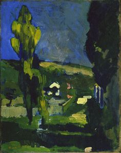 Poplars  André Derain (French, 1880–1954)  c. 1900.    MoMA