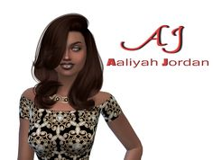Sims 4 CC's - The Best: Aaliyah Jordan by TheReds Studio
