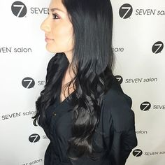 Added some beautiful long layers to these luscious locks!