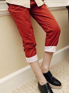 New Men Fashion Designed Fitted Casual Cropped Pants