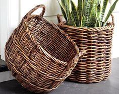 Плетеные корзины в интерьере | Sweet home