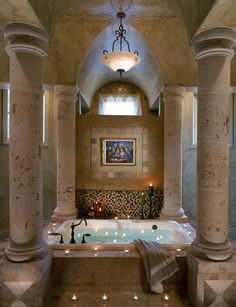 dream tub...love it! -- for more dream homes, visit my board http://pinterest.com/davidos193/dream-homes/