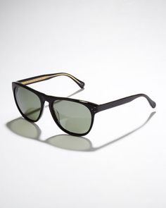 Daddy B Plastic Sunglasses by Oliver Peoples at Neiman Marcus.