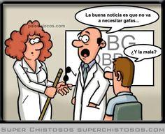 Oculista - Humor gráfico