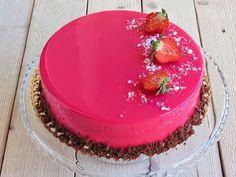 красивый глазурь для торта