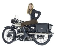 The Vintagent: CHARLOTTE AND THE BROUGH