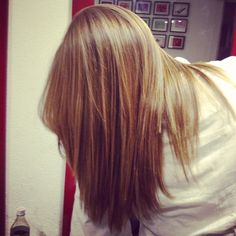 Caramel hair....