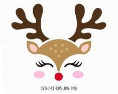Cute Reindeer SVG, Reindeer Face, Rudolf svg, Christmas svg, Girl Reindeer ,Christmas Cutting Files, Christmas Vinyl, Office Christmas, Diy Christmas Cards, Christmas Crafts, Christmas Decorations, Xmas, Christmas Ornaments, Reindeer Christmas, Michael Christmas
