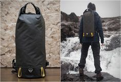 Trakke is a recent brand from Scotland, they create products for the everyday adventurer that is durable, versatile and timeless. Their no-nonsense Og Backpack is a sleek lightweight companion for adventure in even the harshest conditions. Made from Ventile cotton with a durable waxed cotton base, the pack features a large compartment for stowing all your expedition kit, and the roll-top closure ensures the elements stay out.