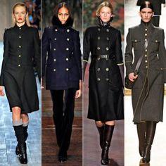 Пальто в стиле милитари барнаул