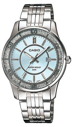 Women's Wrist Watches - Casio Enticer Analog Blue Dial Womens Watch  LTP1358D2AVDF A804 >>> You can get more details by clicking on the image.