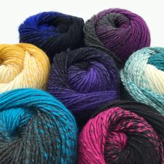 NEW! We've added 7 new brights to our lofty ombre wool blend: Lion Brand Scarfie! Just one skein makes a fabulous scarf, now available in 16 colors.