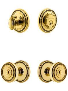 grandeur 807979 vintage brass door hardware passage door