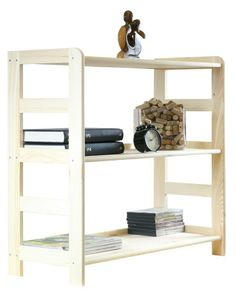 Regały do pokoju R-02 sosna 89x83x33 - Regały biurowe - Regały drewniane Shoe Rack, Bookcase, Shelves, Home Decor, Shelving, Decoration Home, Room Decor, Shoe Racks, Book Shelves