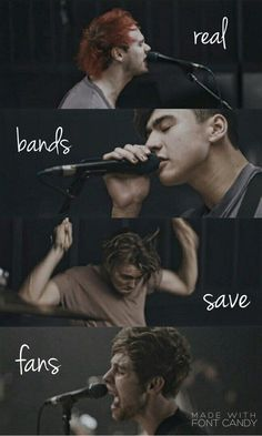 & real fans save bands