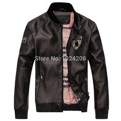 Find More Jackets Information about Man's spring PU Jacket fashion Leisure Collar Men's Jackets Top Brand Coat leather joint two colors FREE SHIPPING XXL,High Quality Jackets from XJD Store on Aliexpress.com