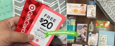 *HOT* FREE $20 Target Gift Card + Baby Gift Bag ($60 Value)