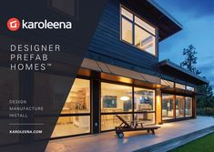 Learn about a modern prefab home or contemporary modular homes in the Karoleena blog.