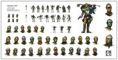 A concept made just for fun Space Orcs Concept Character Concept, Concept Art, Dark Fantasy, Layouts, Design, Image, Conceptual Art, Character Sketches