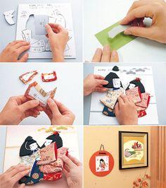 Japanese Traditional Kit : Oshie craft