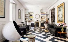 A Design Lifestyle - Jacqueline Palmer: Black and White Done Right