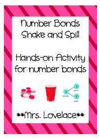 Number Bonds: Shake and Spill Game - Singapore Math