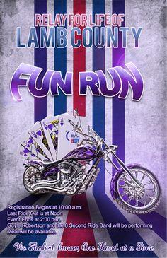 Relay For Life Fun Run Poster -relaywallpaper.blogspot.com