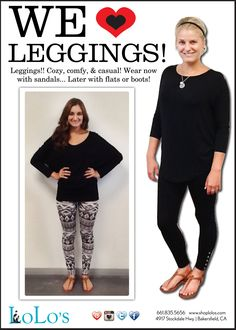 We love leggings!