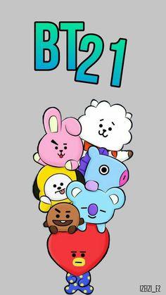 Pop&Joy: The best Wallpapers and Screensavers of BTS Cool Wallpaper, Bts Wallpaper, Iphone Wallpaper, Bts Bangtan Boy, Bts Jimin, Bts Drawings, Line Friends, Bts Chibi, Billboard Music Awards