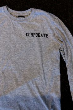 CORPORATE CREST (GREY) $36 #CORPORATEGOTEM