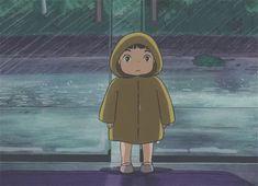 Screencap Gallery for Ponyo Bluray, Studio Ghibli). The son of a sailor, old Sosuke lives a quiet life on an oceanside cliff with his mother Lisa. Hayao Miyazaki, Old Anime, Manga Anime, Anime Art, Ponyo Anime, Studio Ghibli Art, Studio Ghibli Movies, Personajes Studio Ghibli, Girls Anime