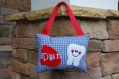 Personalized Tooth Fairy Pillow by forthelittlepeeps on Etsy, $20.00