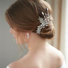 Amelia Rhinestone Bridal Hair Clip