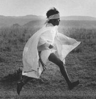 Tarahumara boy running