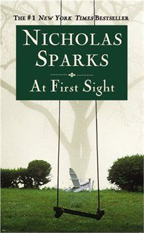 Nicholas Sparks - At First Sight.  This book is the sequel to True Believer.  I'd pick this for a weekend at the cottage, a trip to the beach, or a snowy winter night.