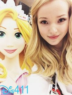 Cute Photo Of Dove Cameron January 3, 2014