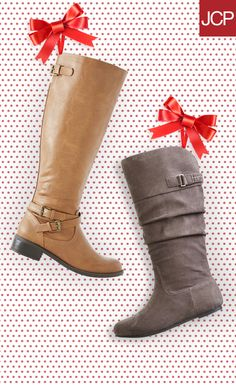 Every girl knows that no closet is complete unless it's overflowing with boots. Show them that you really get them by putting the pair they've been talking about under the Christmas tree, or hit the shoe section and help them find their perfect winter boot!