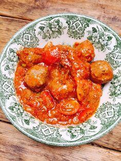 Italiaanse Gehaktballetjes in Italiaanse tomatensaus foodblog Foodinista recept