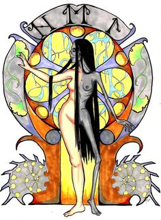 Hel - Der Tod und Das Madchen by ~WintersKnight Hel or Hela is the goddess of the underworld in Norse mythology and ruler ove...