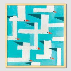 Mizuki Goto Print - Seagulls | west elm