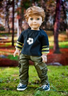 AmericanGirl BOY doll at http://www.etsy.com/listing/163776914/american-girl-boy-doll-clothes-cargo