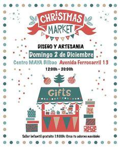 """d9475a59e7 Punpuila Shop on Instagram  """"Ya queda menos! Nos os podéis perder el market  de Navidad!!! Una jornada súper especial donde artesanas y diseñadoras  expondrán ..."""