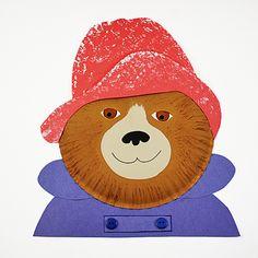 Paper Plate Paddington Bear - Fun Family Crafts