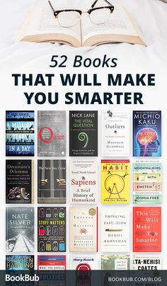 52 Books that Will Make You Smarter - Want to be smarter? These 52 books can help! Shoppers enjoy the benefits of e-books above classic ebooks appreciate it to lessen pricing. As it costs less capital to make plus industry a e-book than a printed e-book Book Challenge, Reading Challenge, Best Books To Read, Great Books, Reading Lists, Book Lists, Book Club Books, My Books, Harry Potter Humor