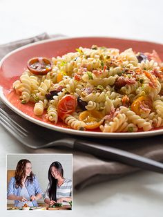 Recipe Redo: Bob Harper's Tomato and Olive Pasta (minus bacon!)