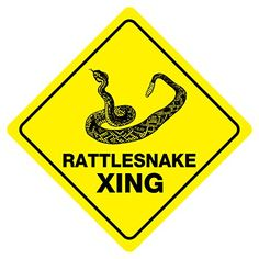 "RATTLESNAKE CROSSING Funny Novelty Xing Sign 12""x12"" chea... http://www.amazon.com/dp/B017V700D6/ref=cm_sw_r_pi_dp_hMwixb10T6HTJ"