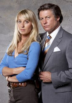 Peter Phelps and Asher Keddie in Underbelly: Tale of Two Cities