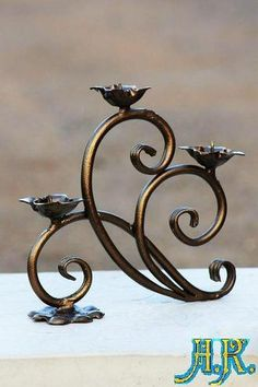 Wrought Iron Candle Holders, Candle Holder Decor, Metal Tree Wall Art, Metal Artwork, Marble Toys, Metalarte, Metal Bending Tools, Copper Work, Wrought Iron Decor