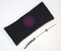 A personal favourite from my Etsy shop https://www.etsy.com/listing/564778755/relaxing-lavender-eye-pillow-mandala